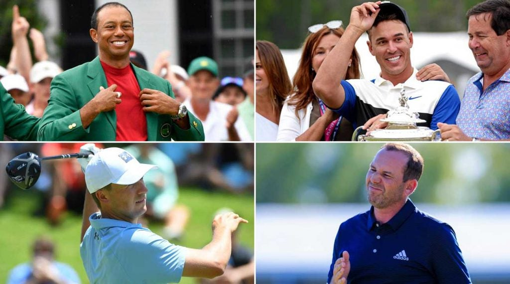 PGA Tour report cards: Tiger Woods, Brooks Koepka, Jordan Spieth, Sergio Garcia