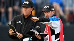 Phil Mickelson on slow play, green books