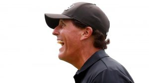Phil Mickelson spent a wild night on Twitter