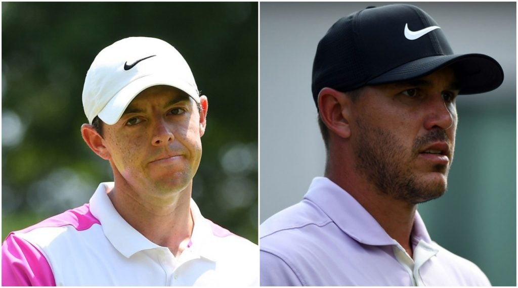 Rory McIlroy and Brooks Koepka are both fed up with slow-play.