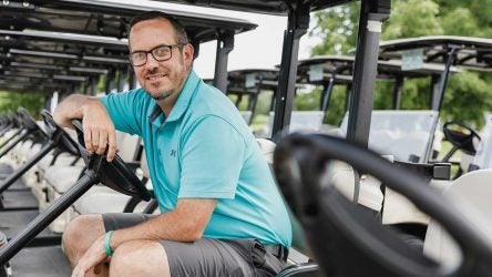 Ryan French managed several restaurants before he was forced to quit and be a stay-at-home dad. It led to his fast-growing Twitter account, which is a must-follow for media members, tour pros and more.