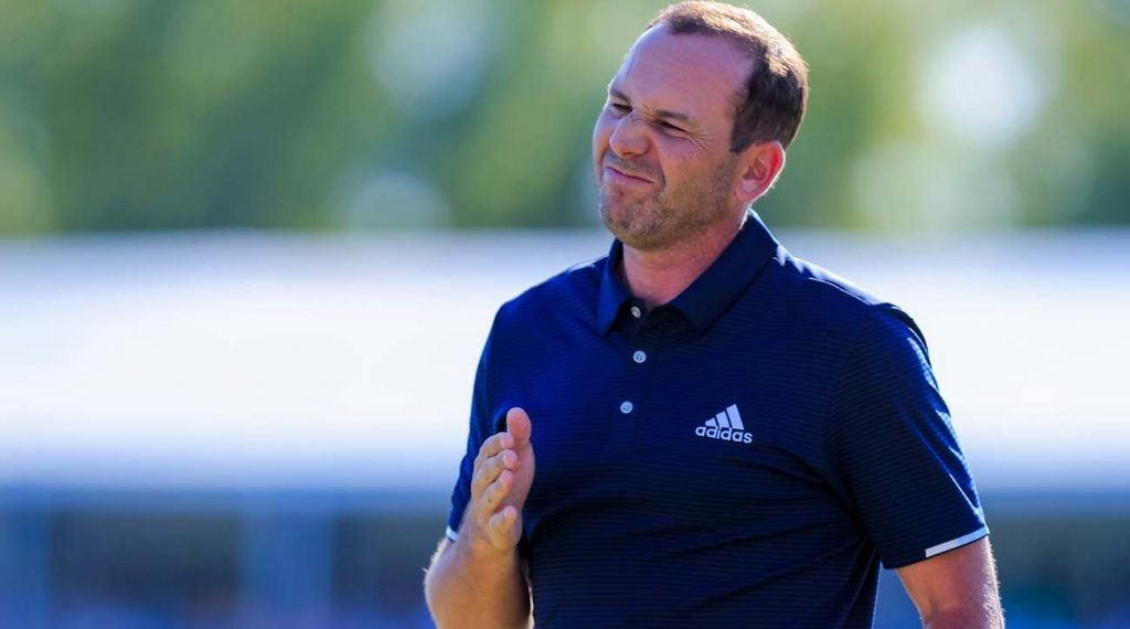 Sergio Garcia had multiple embarrassing incidents on the course in 2019.
