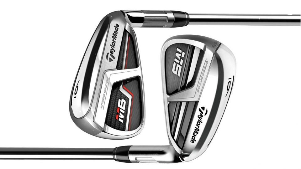 TaylorMade M5 and M6 irons