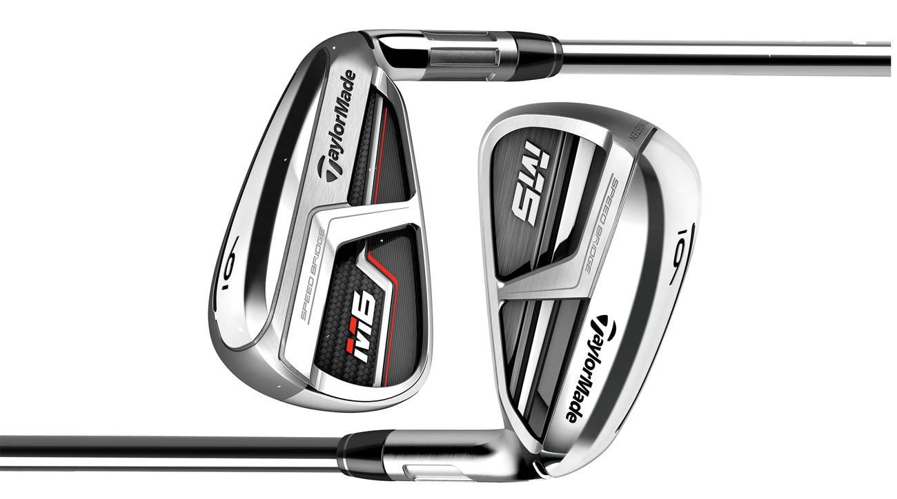 TaylorMade's M5 and M6 irons: The key differences between