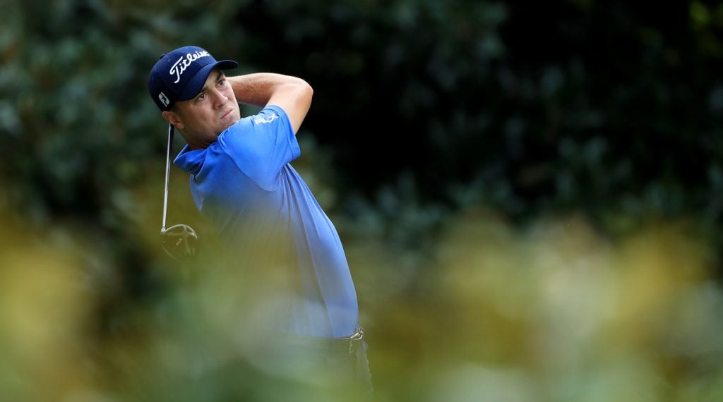 Justin Thomas reached a new personal record with his driver this year.