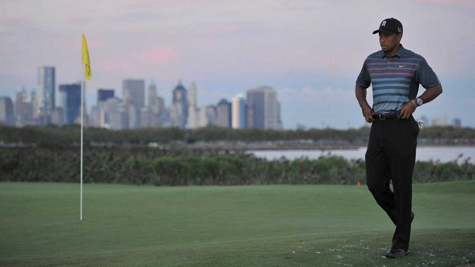 Tiger Woods is in The Northern Trust this week, but he'll be back at Liberty National for the Nexus Cup in September.