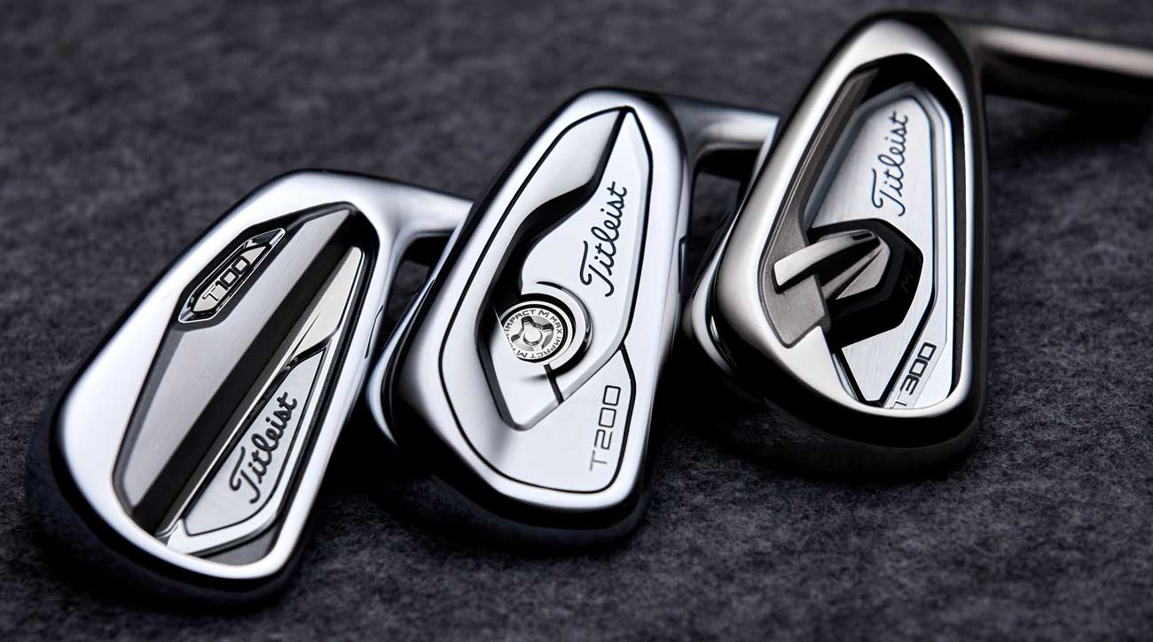 Titleist introduces brand-new T-Series irons with three new models