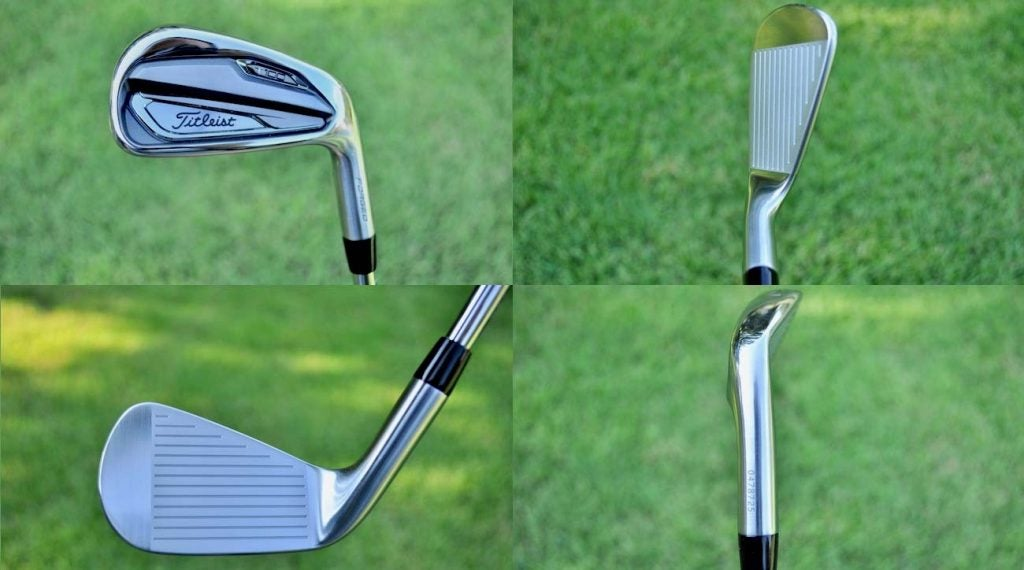 The new Titleist T100 iron model.