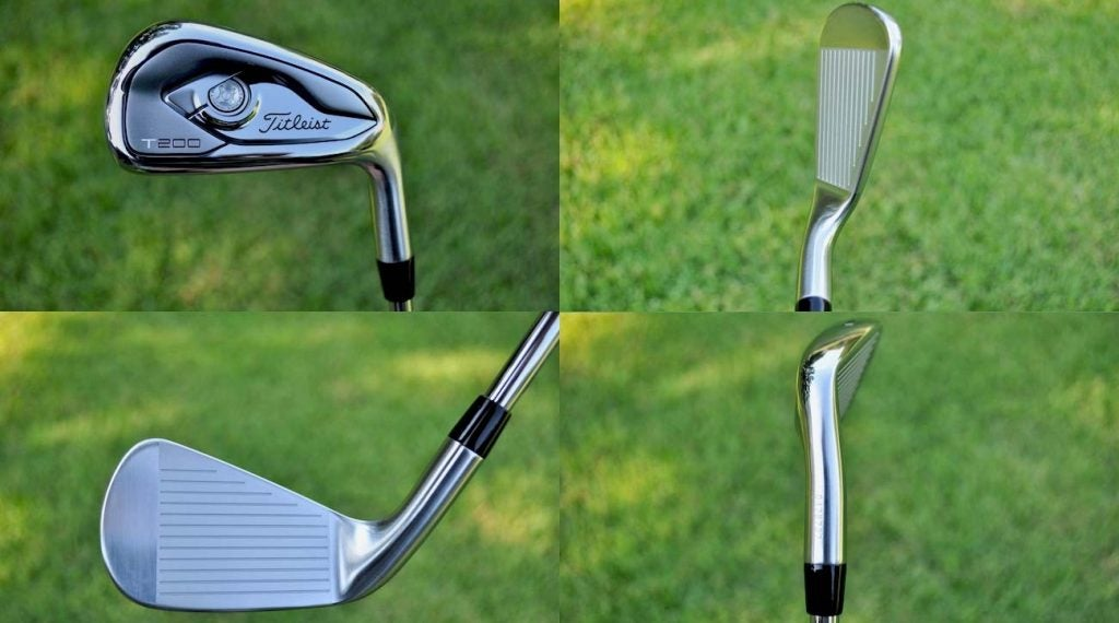Titleist's T200 iron model.