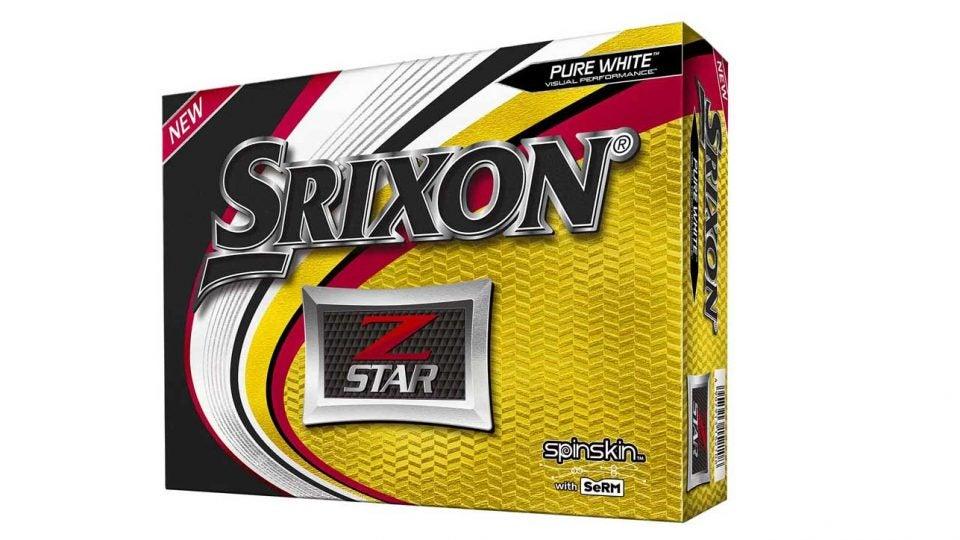 Tour golf balls: Srixon Z-Star