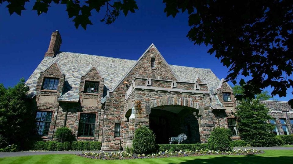 Winged Foot clubhouse