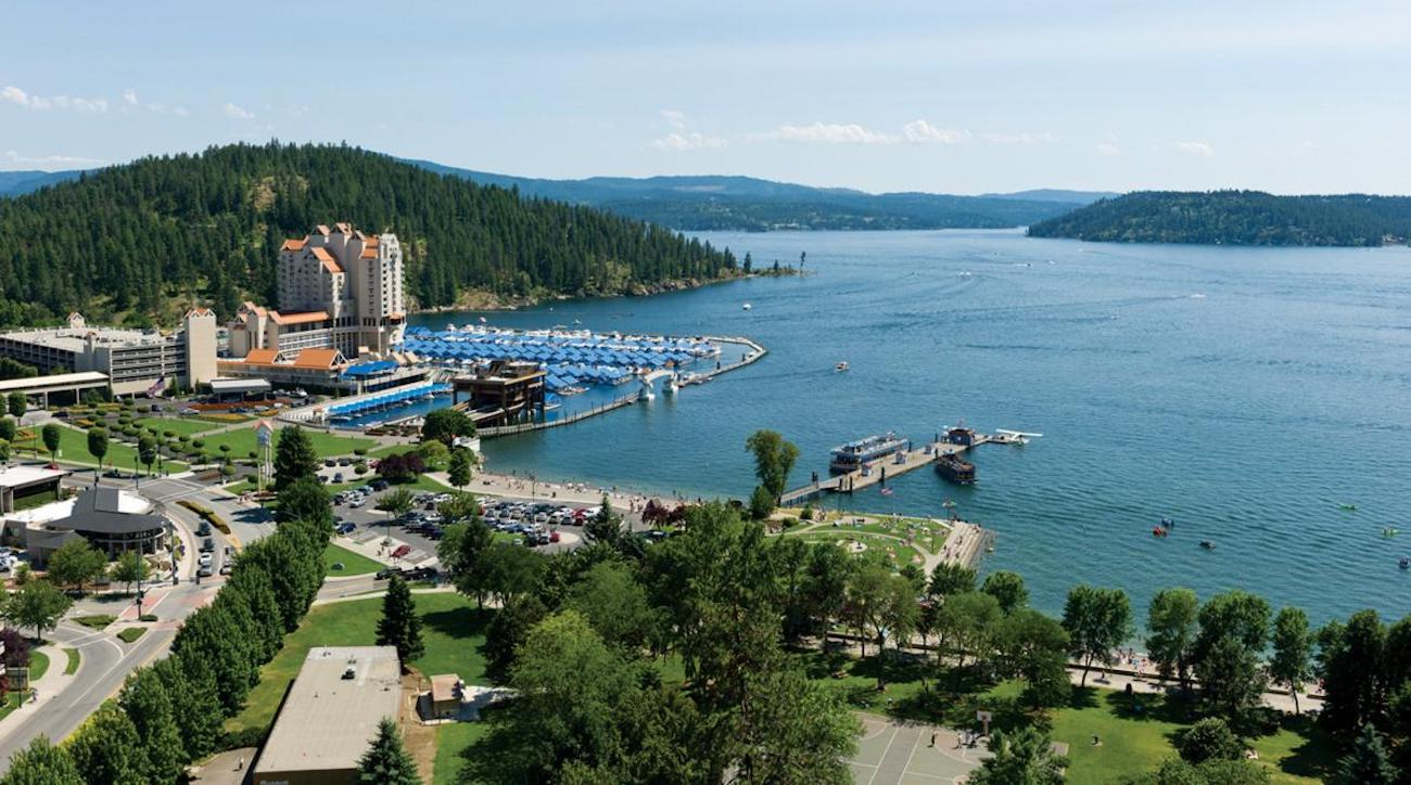 Another view of Coeur d'Alene Resort.