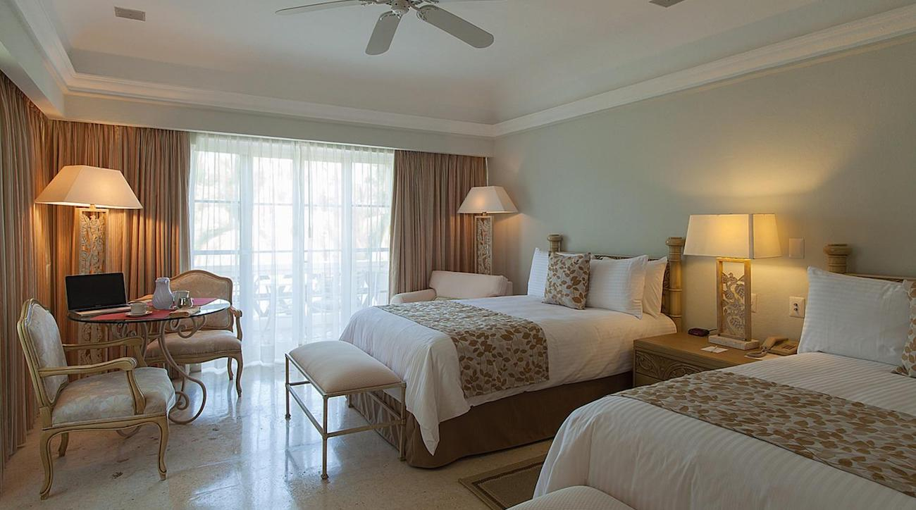 One of the rooms at Grand Isla Navidad Resort.