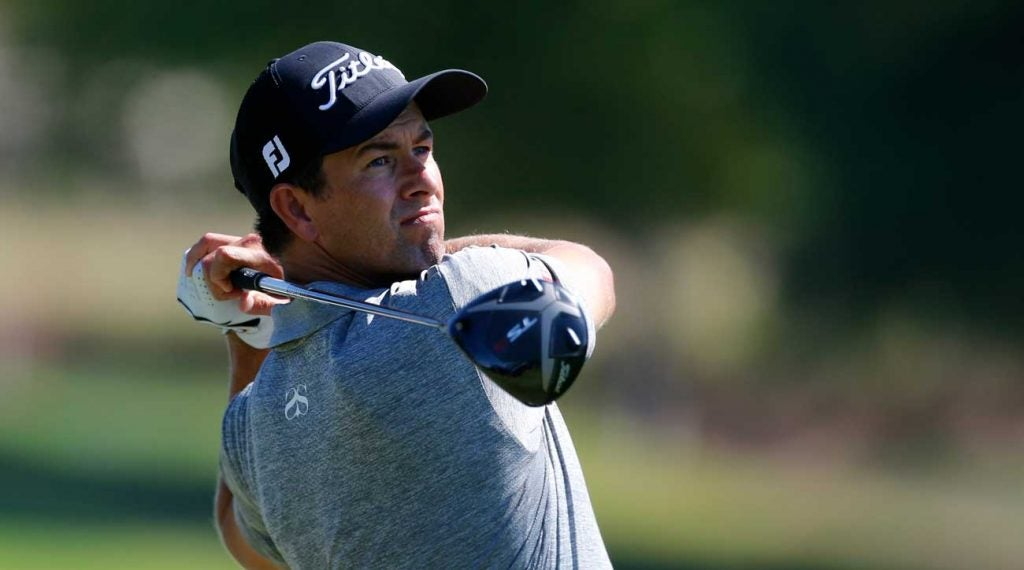 Adam Scott is seeking his 14th career Tour victory at this week's Safeway Open.