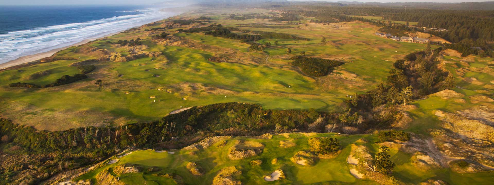 Bandon Dunes Golf Resort occupies an incredible stretch of the Oregon coastline.