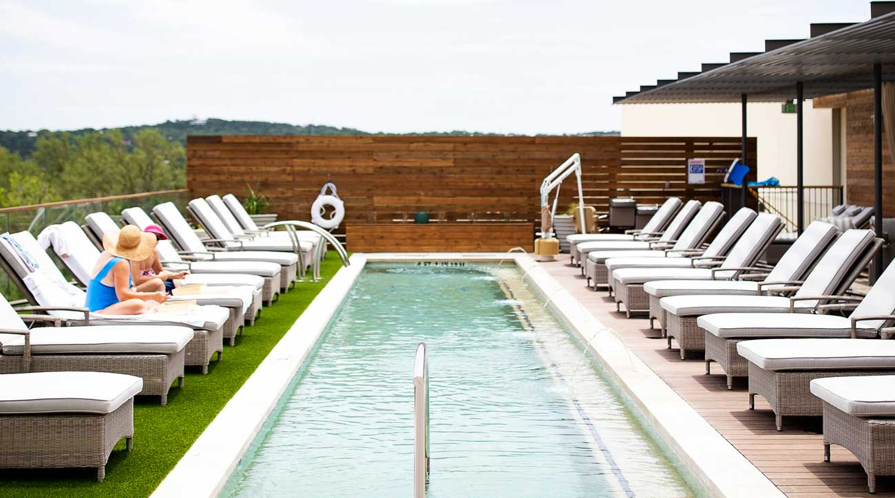 There are plenty of ways to relax at Omni Barton Creek Resort & Spa in Austin, Tex.