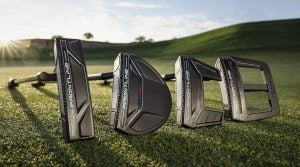 Cleveland's Frontline putters come in four different head shapes.