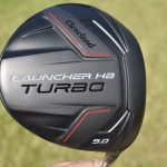 The covert sole of Cleveland's Launcher HB Turbo driver.