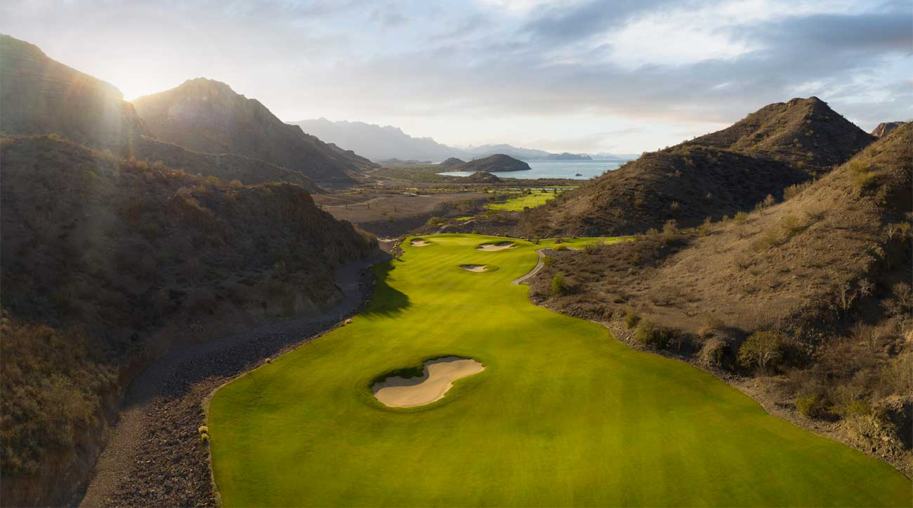 The par-5 5th hole at TPC Danzante Bay.