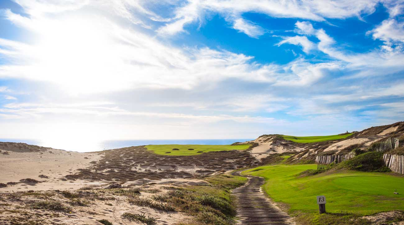 The view from No. 13 on the Dunes Course at the Resort at Diamante.