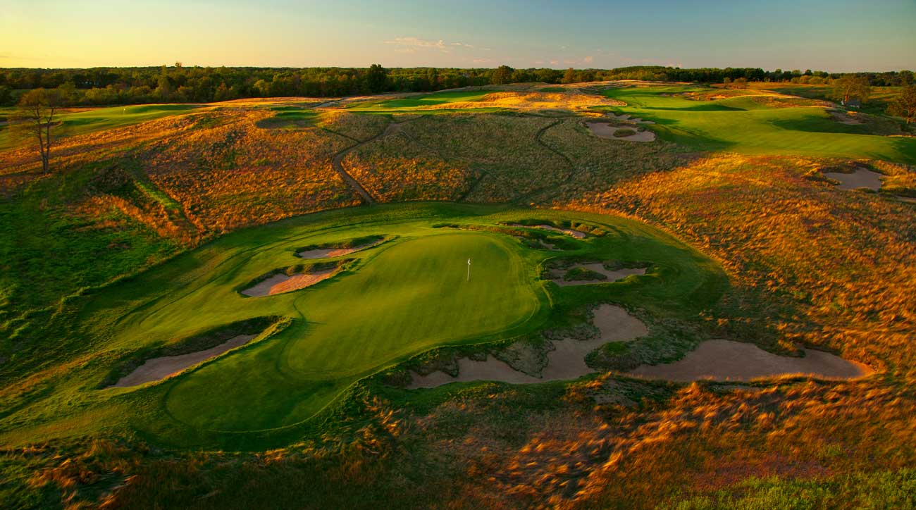 Erin Hills hosted the 2017 U.S. Open — and could host your buddies trip.