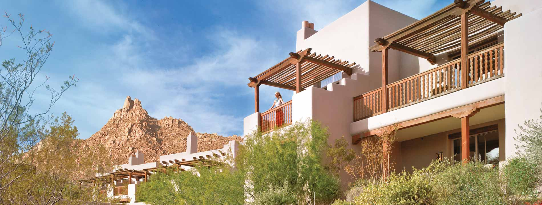 Four Seasons Resort Scottsdale at Troon North features over 200 rooms.