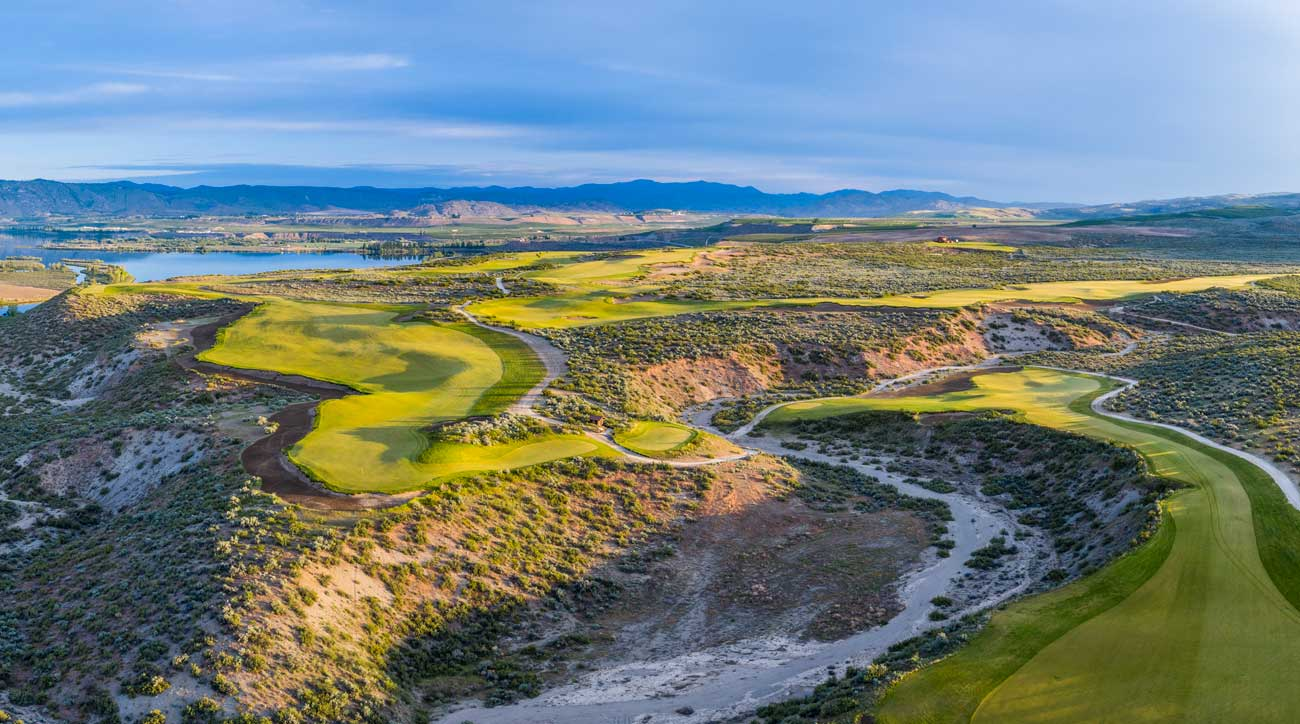 Gamble Sands is located in Brewster, Washington.