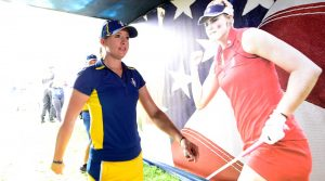 Solheim Cup player Jodi Ewart Shadoff in 2017