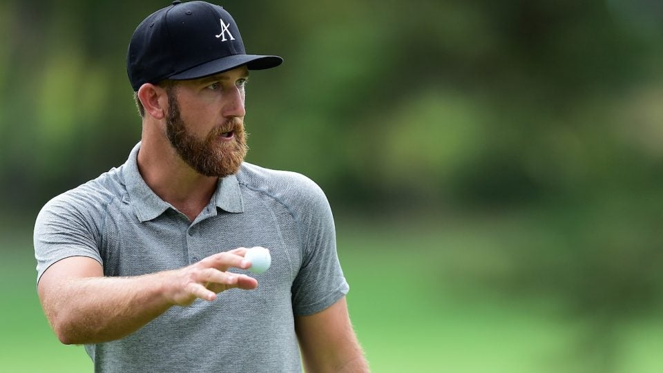 "Kevin Chappell ran out of ""fresh"" Titleist Pro V1's during the second round."