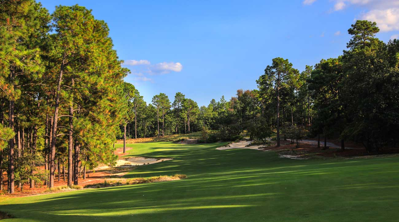 Mid Pines is another Donald Ross design and was restored by Kyle Franz in 2013.