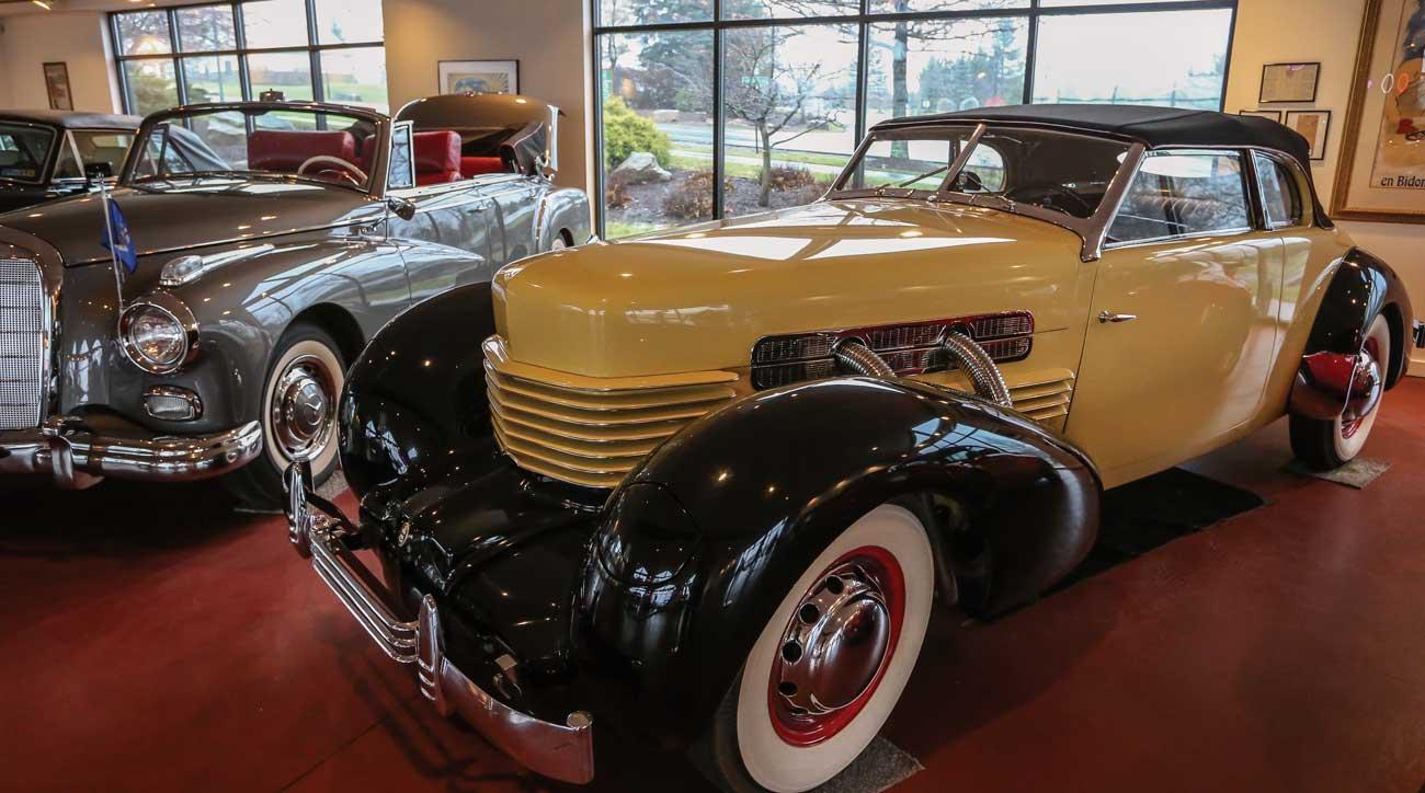 Nemacolin Woodlands Resort features an antique car museum.