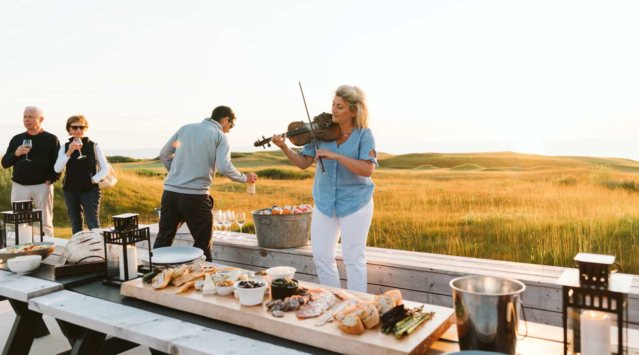 Cabot's adventure program offers excursions including fly fishing, whiskey-tasting tours, beach lobster boils and more.