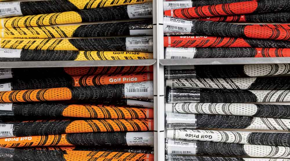 Tools of the trade within Paul Boehmer's Tour truck.