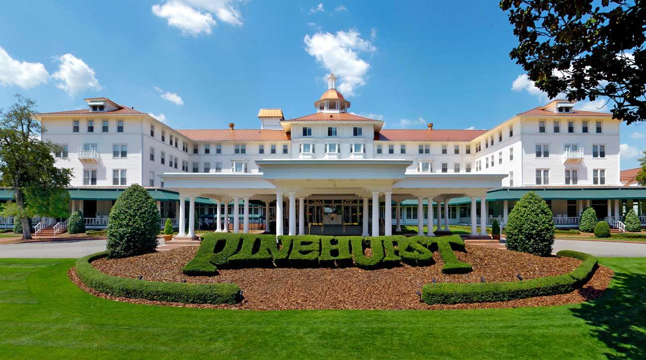 The Carolina Inn is a major hub at the Pinehurst Resort.