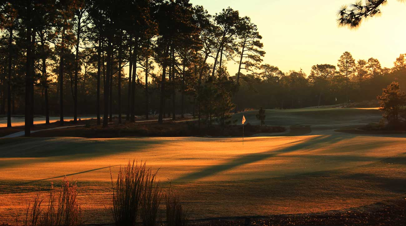 Pinehurst's No. 4 course is designed by Gil Hanse.