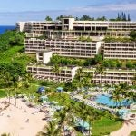 An aerial view of Princeville Resort Kauai.