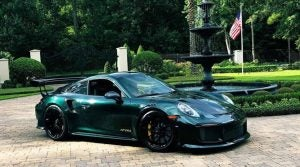 Patrick Reed Porsche