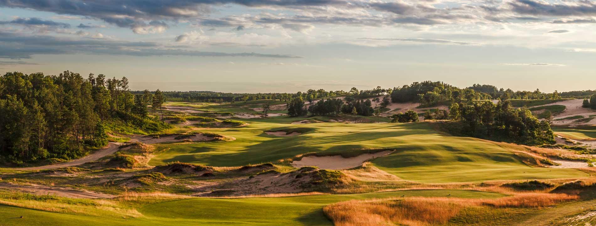 Sand Valley Golf Resort opened in 2017.