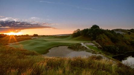 Streamsong's Red Course is designed by Bill Coore and Ben Crenshaw.