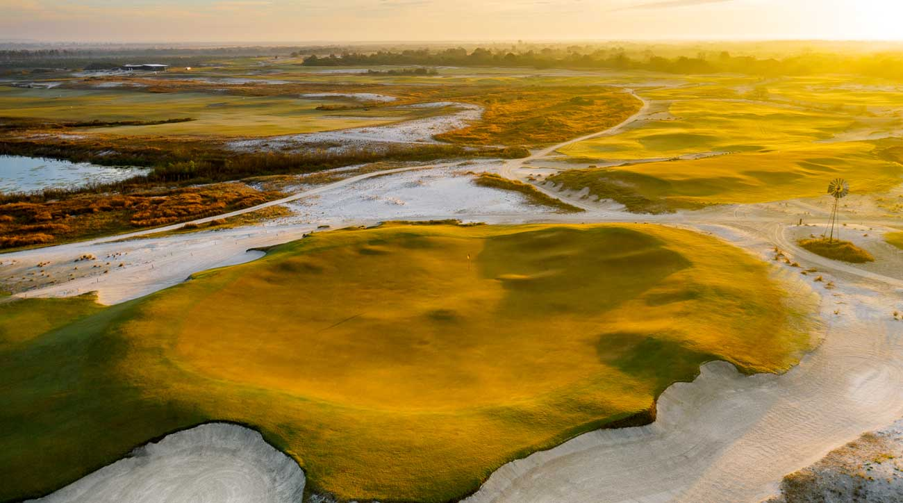 Streamsong's Black Course is designed by Gil Hanse.