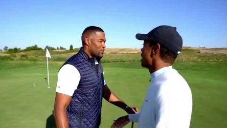 Tiger woods michael strahan
