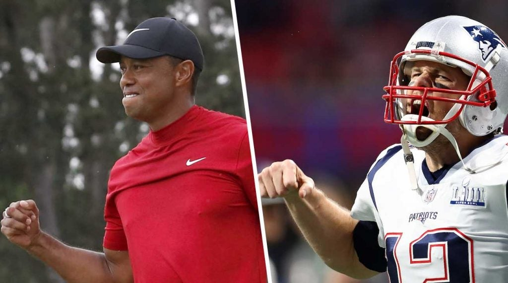 tiger woods tom brady