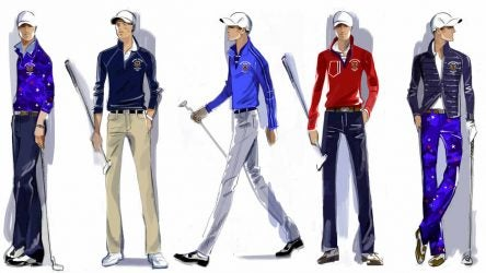 Walker Cup team uniforms