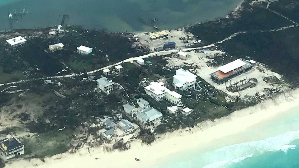 The Bahamas island of Abaco was among the hardest hit. Abaco is home to Baker's Bay resort (not pictured), which has a Tom Fazio course.