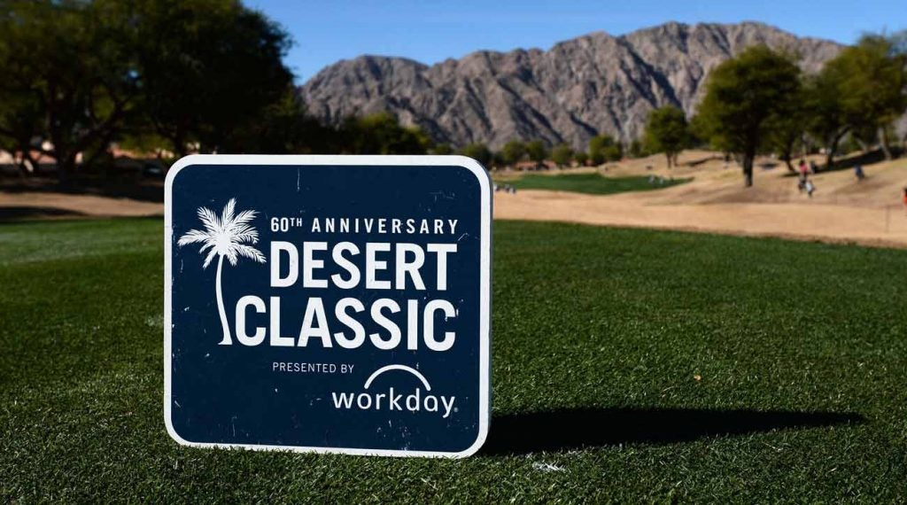 The Palm Springs tournament, which was called the Desert Classic in 2019, has a new name for 2020.