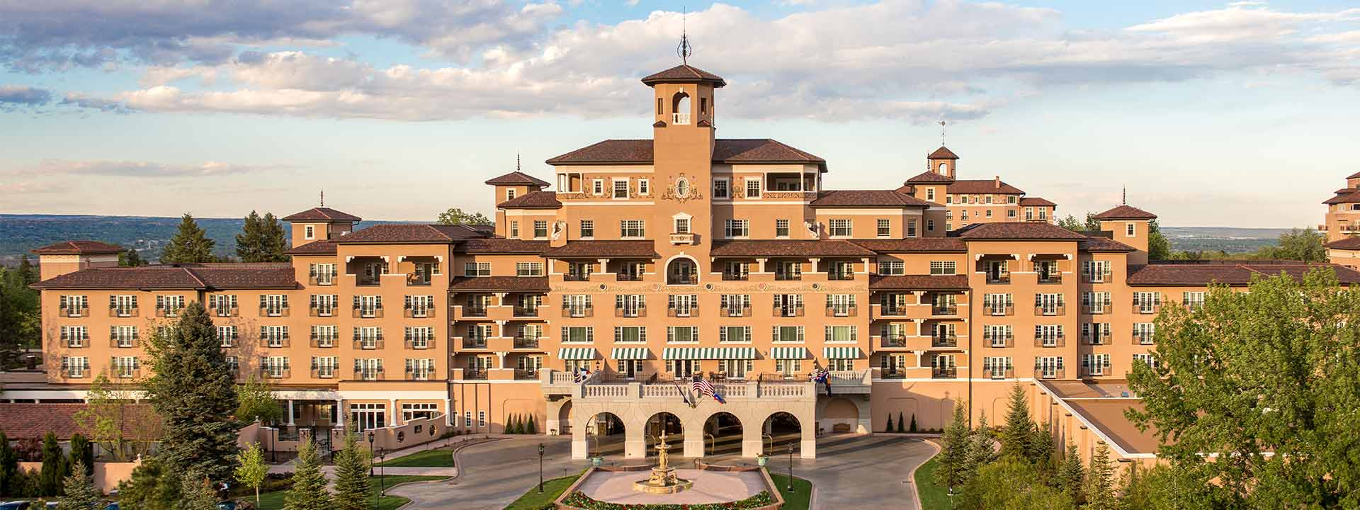 A view of The Broadmoor in Colorado Springs, Colo.