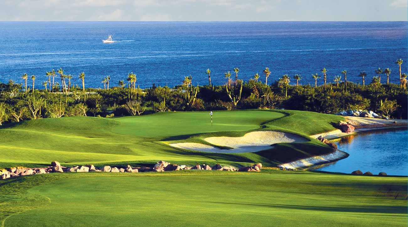 Golf at Cabo Del Sol is always connected to the ocean.