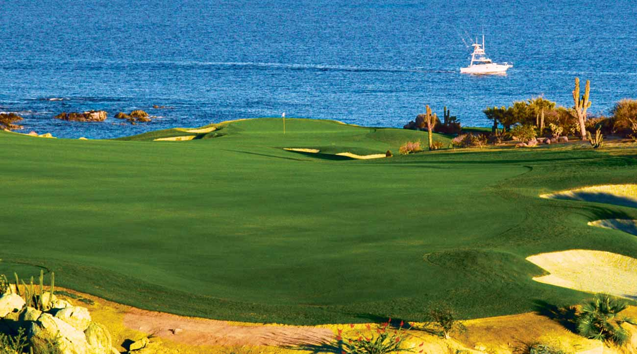 Another view of golf at Cabo Del Sol Beach and Golf Resort.