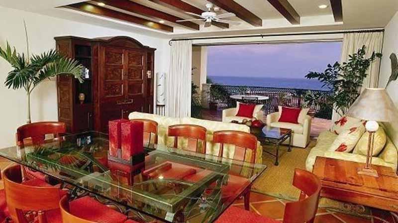 A room at Cabo Del Sol.