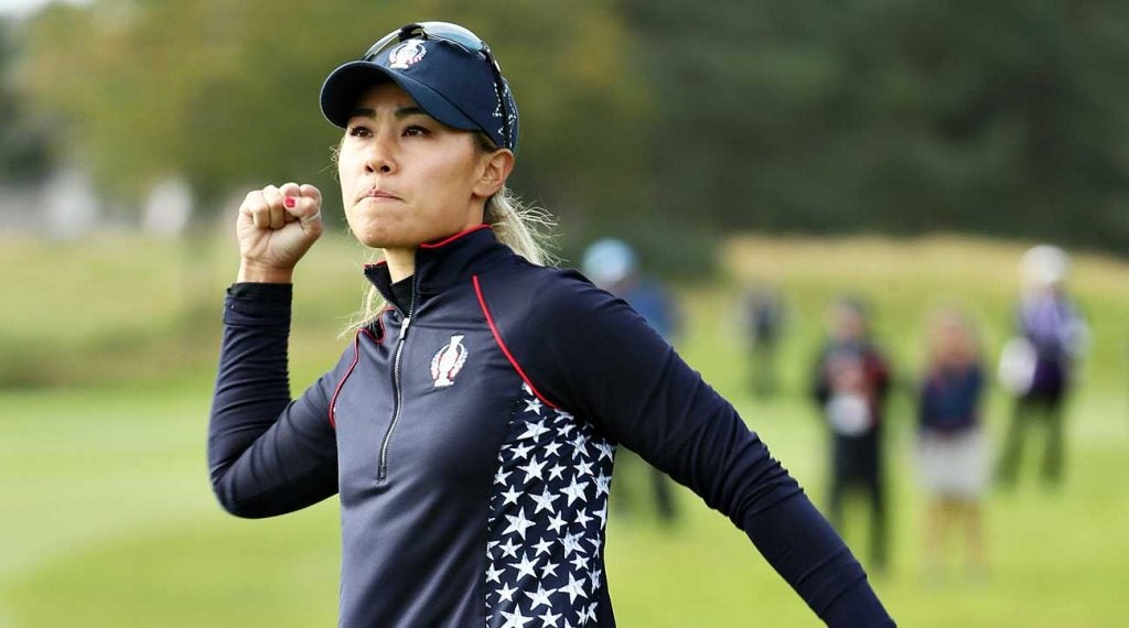 Kang was the first match out on Sunday but Europe got the point.